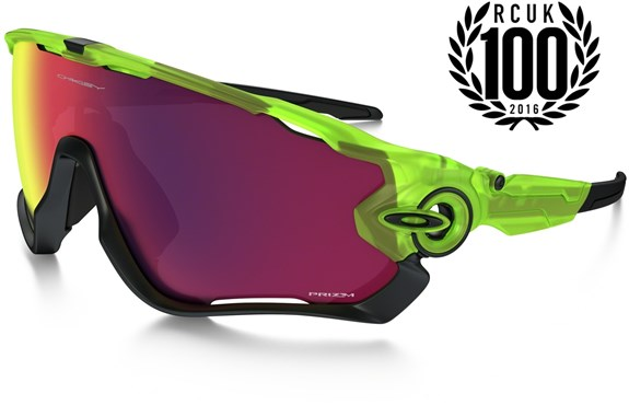 Image of Oakley Jawbreaker Uranium Collection Prizm Road Cycling Sunglasses