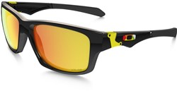 Image of Oakley Jupiter Squared Valentino Rossi Signature Series Sunglasses