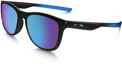 Image of Oakley Trillbe X Prizm Polarized Sapphire Fade Collection Sunglasses
