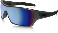 Image of Oakley Turbine Rotor Prizm Deep Water Polarized Steel Collection Sunglasses
