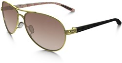Image of Oakley Womens Tone It Up Feedback Sunglasses