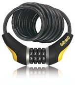 Image of OnGuard Doberman Series Combo Coil Cable Lock