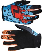 Image of One Industries Youth Zero Slime Long Finger Cycling Gloves