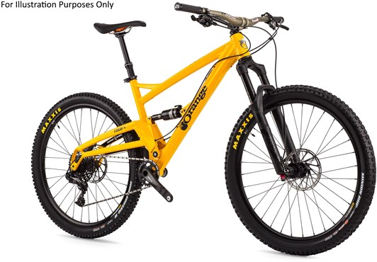 "Image of Orange Four RS 27.5"" 2017 Mountain Bike"