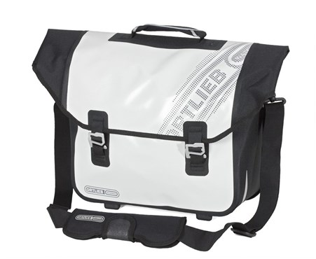 Image of Ortlieb Downtown Black n White Rear Pannier Bag with OL3 Fitting System