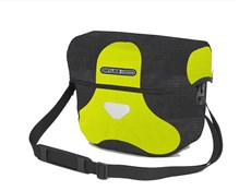 Image of Ortlieb Ultimate 6 High Visibility Handlebar Bag With Magnetic Lid