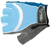 Image of Outeredge Gel Mitt Short Finger Cycling Gloves - Blue