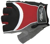 Image of Outeredge Gel Mitt Short Finger Cycling Gloves - Red