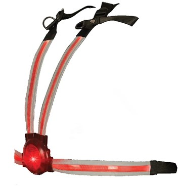Image of Oxford Commuter X4 Fibre Optic Rear Light