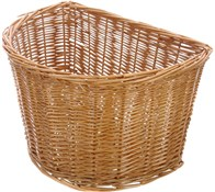 Oxford D Shape Full Wicker Cane Basket