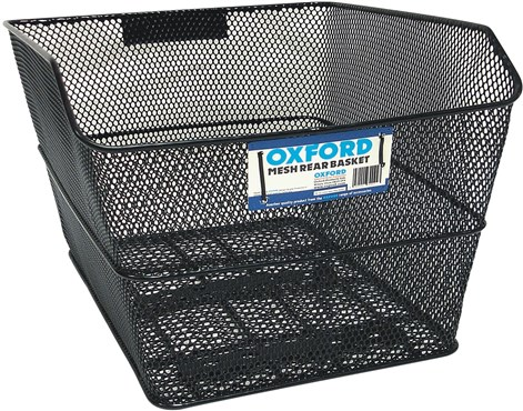 Image of Oxford Mesh Rear Rack Basket With Fittings