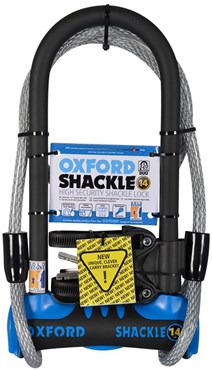 Image of Oxford Shackle 14 D-Lock Duo Pack Gold Sold Secure