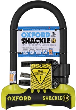 Image of Oxford Shackle 14 Gold Sold Secure U-Lock