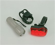 Image of Oxford Ultra Torch 9 LED Front/7 LED Rear Lightset