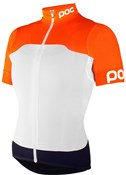 Image of POC Womens AVIP Printed Light Short Sleeve Jersey