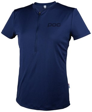 Image of POC Womens Trail Light Zip Tee SS16