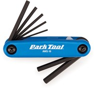 Image of Park Tool AWS10C Fold-up Hex Wrench Set: 1.5 to 6 mm