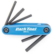 Image of Park Tool AWS92C Fold-up Hex Wrench and Screwdriver Set