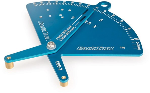 Park Tool CDG2 - Chainring Bolt Circle Diameter (BCD) Gauge