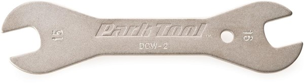Image of Park Tool DCW2C Double-ended Cone Wrench: 15mm / 16 mm