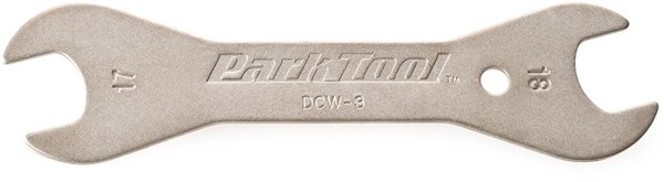 Image of Park Tool DCW3C Double-ended Cone Wrench: 17mm / 18 mm