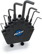Image of Park Tool HXS2 Professional Hex Wrench Set With Bench Mount / Wall Mount Holder