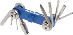 Image of Park Tool IB2C I-Beam Mini Fold-up Hex Wrench Screwdriver / Star Shaped Wrench Set