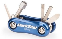 Image of Park Tool MT10 - Mini Fold Up Multi-Tool