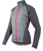 Image of Pearl Izumi Elite Barrier Convertible Womens Cycling Jacket  SS17