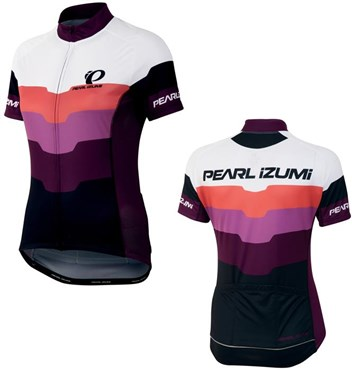 Image of Pearl Izumi Womens Elite LTD Short Sleeve Cycling Jersey