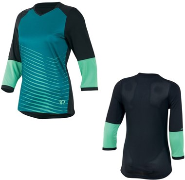 Image of Pearl Izumi Womens Launch 3/4 Sleeve Cycling Jersey