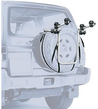 Peruzzo 4x4 Spare Tyre Fitting 2 Bike Carrier
