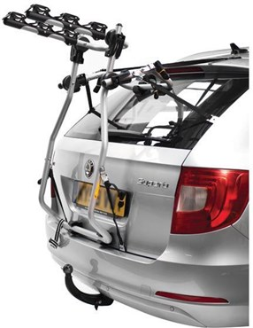 Image of Peruzzo Milano High Rise 3 Bike Boot Fitting Car Carrier / Rack