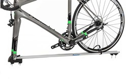 Image of Peruzzo Pordoi Fork Mounting 1 Bike Roof Car Rack - Disc Brake Compatible