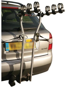 Image of Peruzzo Trento Towbar Fitting 3 Bike Car Carrier / Rack