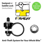 Image of Pinhead Seatpost/Saddle Lock Solid Axle