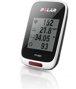 Image of Polar M450 GPS Bike Computer With Heart Rate Monitor