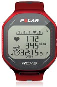 Image of Polar RCX5 Heart Rate Monitor Computer Watch