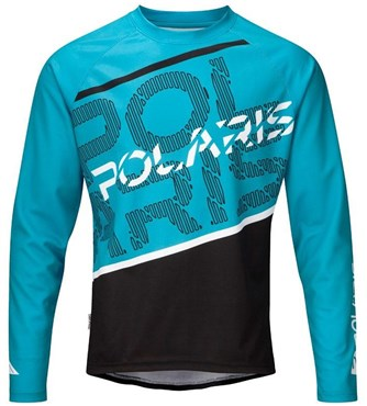 Image of Polaris AM Defy Long Sleeve Cycling Jersey