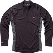 Image of Polaris BL Zip Long Sleeve Cycling Base Layer