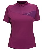 Image of Polaris Medusa Trail Womens Short Sleeve Cycling Jersey