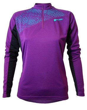 Image of Polaris Siren Womens Long Sleeve Cycling Jersey