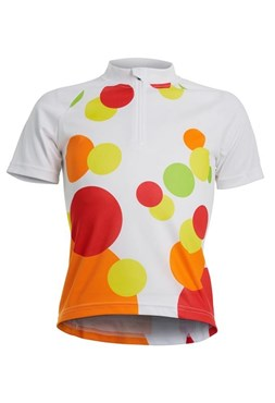Image of Polaris Spot Girls Short Sleeve Cycling Jersey