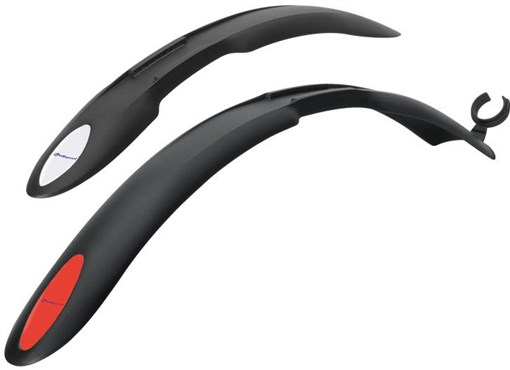 Image of Polisport Colarado Clip On Mudguard Set