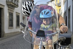 Image of Polisport Universal Handlebar Fitting Windscreen