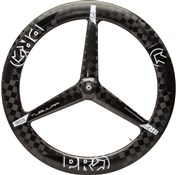 Image of Pro Carbon Textreme 3-Spoke Front Tubular TT Wheel