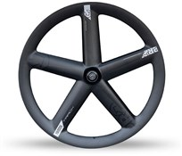 Image of Pro Carbon Track 5-Spoke Front Tubular Wheel With Shimano Dura-Ace Track Hub