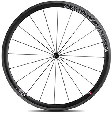 Image of Profile Design 38 Twenty Four Full Carbon Clincher Wheel - Front