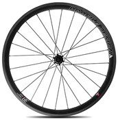 Image of Profile Design 38 Twenty Four Full Carbon Clincher Wheel - Rear