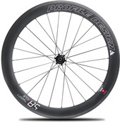 Image of Profile Design 58 Twenty Four Full Carbon Clincher Wheel - Rear